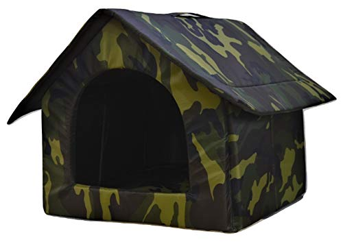 Foodie Puppies Soft & Light Weight Designer Luxurious Foldable Pet Tent Kennel Den House for Puppies...