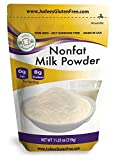 Judee's Non-Fat Milk Powder (11.25 Oz): Non-GMO, Hormone Free, USA Produced , (24 oz Size Also) Protein (8 grams) and Calcium (20% DV) in each Serving