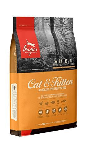 ORIJEN Dry Cat Food for Cats & Kittens, Premium Fresh & Raw Animal Ingredients, 12lb