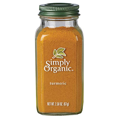 Simply Organic Ground Turmeric Root | Certified Organic | 2.38 oz. (3 Pack)
