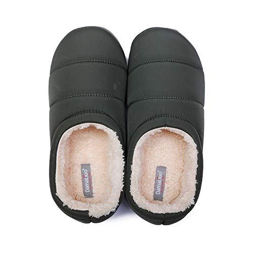 Zapatillas casa Zapatillas De Invierno para Hombre, Zapatill