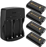 Smatree 4x2600mAh Rechargeable Batterie pour Xbox Series X/Xbox Series S/Xbox...