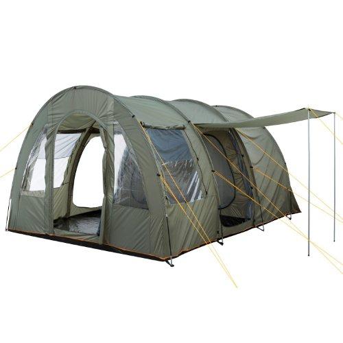 CampFeuer Tente Tunnel TunnelX   Grande Tente familiale avec 3 entrées  ...