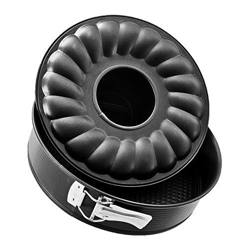 Zenker 3433 - Molde para bizcocho con Dos Base extraíble (3