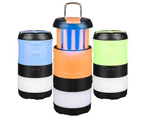 4en1 Lampe LED Torche Ultra puissante, UV Anti Moustiques Insectes Mouches,...