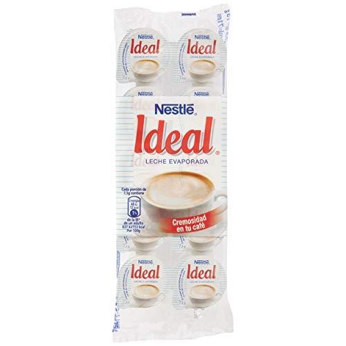 Nestlé Ideal - Leche evaporada semidesnatada en porciones -