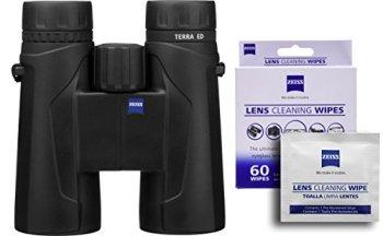 Zeiss Terra 10x42 ED 524206 Binoculars w/Free 60 ct. Zeiss Lens Wipes