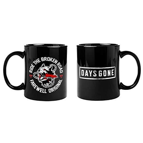 "Gaya Entertainment D24ABF9FC2 Days Gone Standard Mug ""Broken Road"" Black"