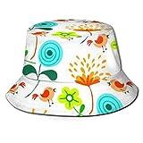 Tammy Bailey (Amazon Genuine -) Unisex impresión doble lado desgaste reversible cubo sombrero   mujeres cinturón hebilla Fedora sombrero/hombres 3.0 gorra