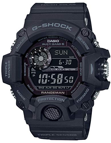 Men's Casio G-Shock Master of G Rangeman Black Watch GW9400-1B
