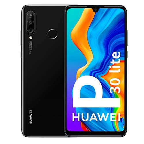 Huawei P30 Lite - Smartphone da 6.15 '(WiFi, Kirin 710, 4GB RAM, memoria 128GB, fotocamera 48 + 2 + 8MP, Android 9) Nero