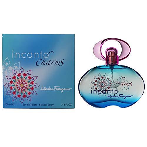 Incanto Charms By Salvatore Ferragamo For Women eau-de-toilette Spray, 3.40 Ounce