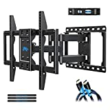 Mounting Dream TV Mount Bracket for 42-70 Inch Flat Screen TVs, Full Motion TV Wall Mounts with...