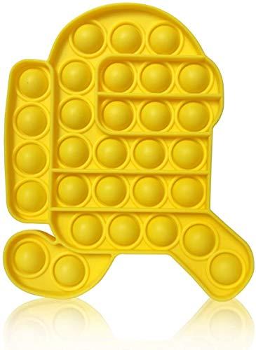 Among in Us Push Popping Bubble Sensory Fidget Toy, Push Pop...