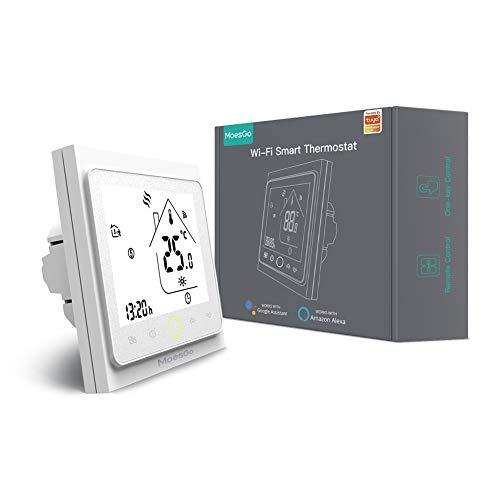 MoesGo Termostato programable para calentamiento de agua y regulador...