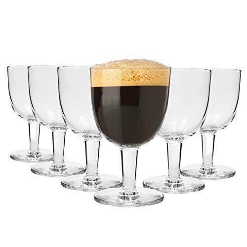 Bormioli Rocco Abbey Ale Birra Artigianale Bicchieri Set con STEM - 418ml - Confezione da 24