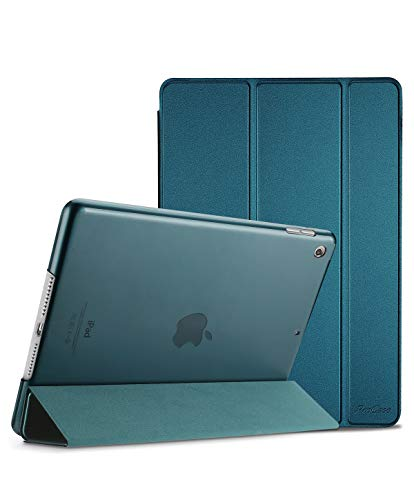ProCase iPad 10.2 Case 2019 iPad 7th Generation Case, Slim Stand Hard Back Shell Protective Smart Cover Case for iPad 7th Gen 10.2 Inch 2019 (A2197 A2198 A2200) Teal