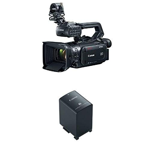 Canon XF405 Professional Camcorder with Battery Pack