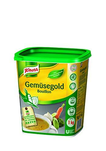 Knorr Gemüsegold Bouillon Gemüsebrühe (rein pflanzlich, ausgeprägter Gemüsegeschmack) 1er Pack (1 x 1 kg)
