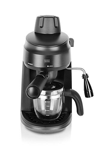 BLACK+DECKER BXCM0401IN 4-Cup Espresso & Cappuccino Coffee Maker