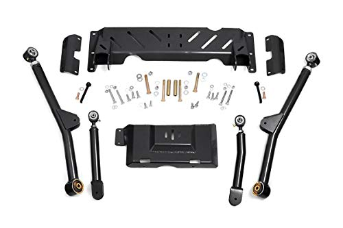 Rough Country Adjustable Long Arm Kit (fits) 1984-2001 Jeep Cherokee XJ | 4-6' Lifts | 68900U