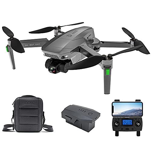 Consegna 3~7 Giorni, ZLL SG907 MAX GPS Drone con Telecamera 4K HD, Gimbal WiFi FPV a 3 Assi, 5G WiFi FPV, Distanza di Controllo di 800m Quadricottero RC Droni, 1 Batteria