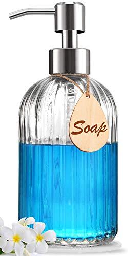 Soap Dispenser with Non-Slip Silicone Pad – Premium Quality –...