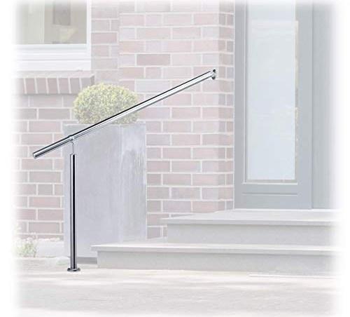 Best Stair Handrails Buying Guide Gistgear | Exterior Stainless Steel Handrail | Flat Bar | Balustrade | Steel Railing | Mild Steel | Staircase