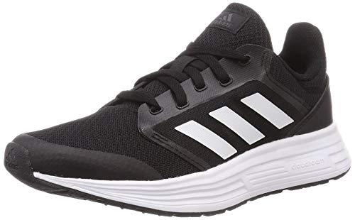 Adidas Galaxy 5, Zapatillas de Correr Mujer, Negro (Core Black/Footwear White/Grey), 38 2/3 EU