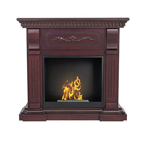 AFLAMO Bio-Fireplace Riviera With Insert Organic 60 Tüv Cherry