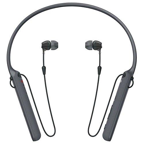 Product Image 1: Sony WIC400 Cuffie In-Ear Stereo, Bluetooth, con Microfono Integrato, Neck-Band, Batteria Fino A 20 Ore, Colore Nero