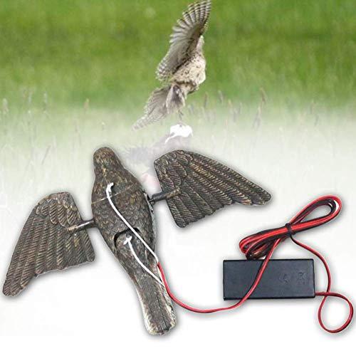 Pnxq88 Simulazione piccioni - Esca, caccia esca, elettrico Velo Bird con Spinning ala per caccia
