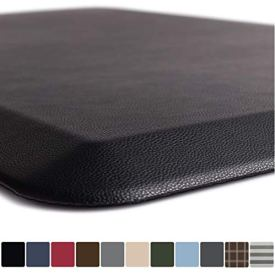GORILLA GRIP Original 3/4' Premium Anti-Fatigue Comfort Mat, Phthalate Free, Ships Flat, Ergonomically Engineered, Extra Support and Thick, Kitchen and Office Standing Desk (32x20: Black)