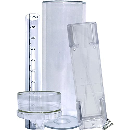 Stratus Precision Rain Gauge with Mounting Bracket (14' All Weather)