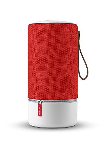 Libratone ZIPP Wireless Lautsprecher (360° Sound, Wlan, Bluetooth, MultiRoom, Airplay 2, Spotify Connect, 10 Std. Akku) victory red