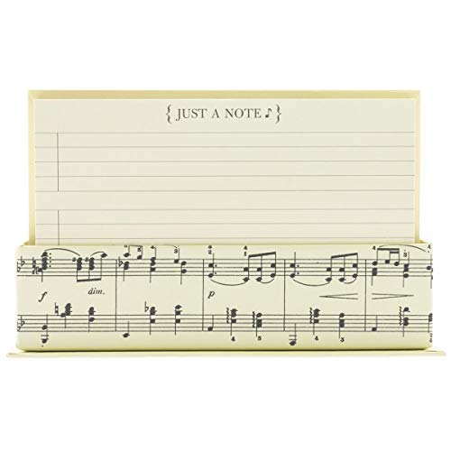 Graphique Flat Note Cards - Musical Stationery Cards with...
