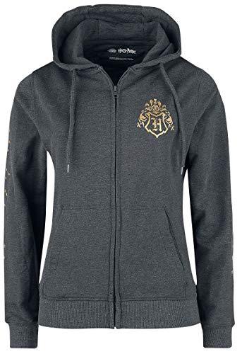 HARRY POTTER Hogwarts Home Donna Felpa jogging carbone M 70% cotone, 30% poliestere Regular