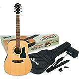 Ibanez V50NJP-NT Jampack pack guitare acoustique avec kit d'accessoires,...