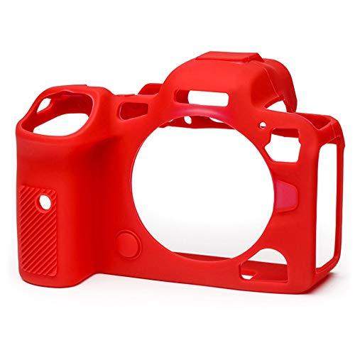 イージーカバー EOS R5/R6 用 レッド 液晶保護フィルム付属