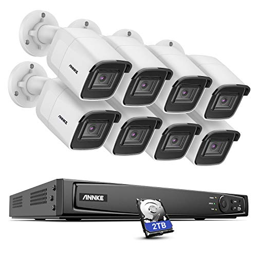 Cámaras de vigilancia ultra HD