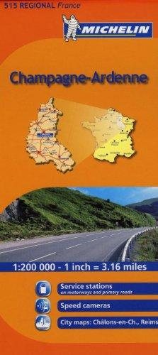 Mapa Regional Champagne-Ardenne (Carte stradali)