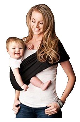 Seven Everyday Slings Baby Carrier Sling Color Black Size 4/Medium