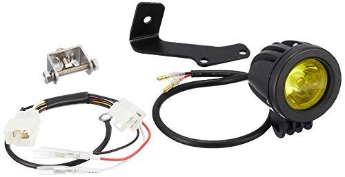 キタコ(KITACO) ランプ LEDシャトルビームKIT ボルトオンタイプ 高輝度LED 防滴仕様 モンキー125 ボディ/ブラック レンズ/ライムイエロー 800-1300330