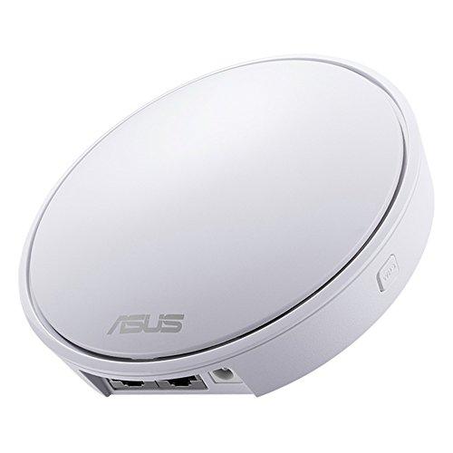 ASUS メッシュ WiFi 無線LAN ルーター 【 Lyra mini 】 1台単体 11ac 867+400Mbps 最大10台 2LDK 1階建向け...