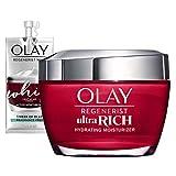 Olay Regenerist Ultra Rich Face Moisturizer with Vitamin B3+, Amino...