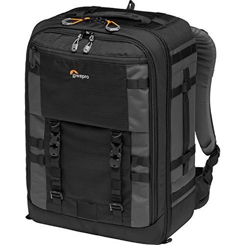 Lowepro Pro Trekker BP 450 AW II Zaino Fotografico Outdoor con Divisori MaxFit per Laptop/iPad 15', Pro Mirrorless e DSLR, Sony, Canon, Nikon, Gimbal, Drone, DJI, Nero/Grigio Scuro