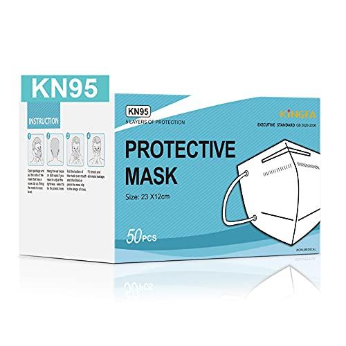 Kingfa KN95 Face Mask 4-Ply with Earloop   GB2626-2006 - 50pcs/Box