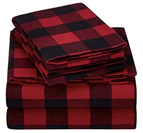 Mainstays Flannel Sheet Set Full