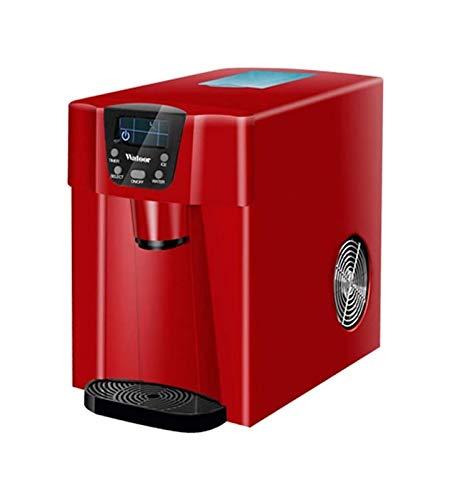 LJJOO Macchina per il ghiaccio, Macchina per il ghiaccio, macchina per il ghiaccio dell'acciaio inossidabile automatico della macchina di ghiaccio automatica della macchina per il ghiaccio elettrica 1