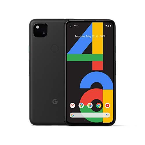 Google Pixel 4a - New Unlocked Android Smartphone - 128 GB of Storage - Up to 24 Hour Battery - Just...